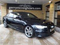2014 AUDI A6 2.0 TDI BLACK EDITION 4d AUTO 175 BHP £10250.00