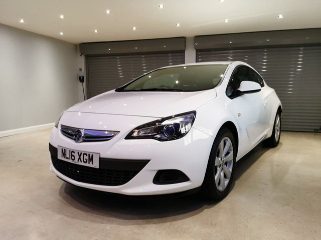 USED 2016 16 VAUXHALL ASTRA 1.4 GTC SPORT S/S 3d 118 BHP PRIVACY GLASS + REVERSE PARKING SENSORS + CRUISE CONTROL