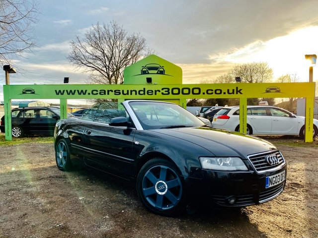 USED 2003 03 AUDI A4 2.5L TDI SPORT 2d 161 BHP SECURE THIS CAR TODAY FOR ONLY £99