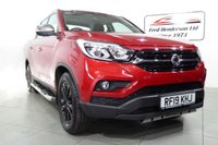USED 2019 19 SSANGYONG MUSSO 2.2 SARACEN 4d AUTO 179 BHP