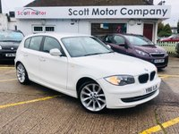 2011 BMW 1 SERIES 2.0 116I Sport 5 door £4999.00