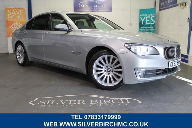 USED 2013 63 BMW 7 SERIES 3.0 730D SE 4d AUTO 255 BHP BMW History, £3090 of extras.