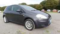 USED 2008 58 FIAT GRANDE PUNTO 1.4 DYNAMIC 3d 77 BHP TILT AND SLIDE SUNROOF, CAMBELT CHANGED, CENTRAL LOCKING, CD-PLAYER, ELECTRIC WINDOWS, CLIMATE CONTROL, ALLOY WHEELS, AIR-CONDITIONING, ECONOMICAL, IDEAL 1ST CAR,