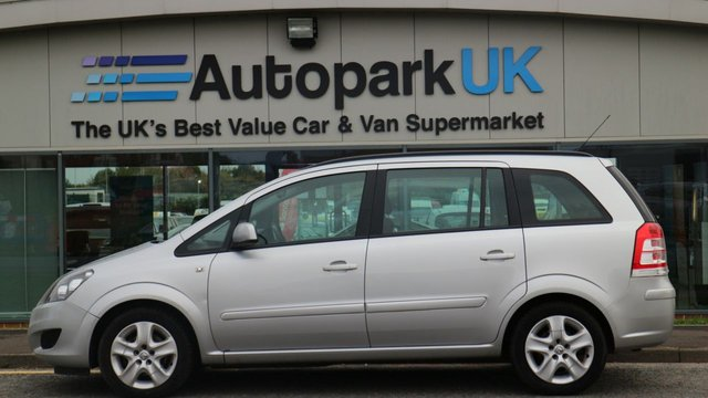 USED 2014 14 VAUXHALL ZAFIRA 1.8 EXCLUSIV 5d 138 BHP LOW DEPOSIT OR NO DEPOSIT FINANCE AVAILABLE