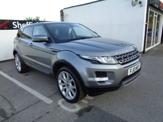 USED 2013 13 LAND ROVER RANGE ROVER EVOQUE 2.2 SD4 PURE  PRESTIGE TECH 5d AUTO 190 BHP 4X4 AWD 4WD 20 Inc alloys Climate Control Leather Trim Sat Nav Panoramic Roof Parking Sensors Privacy Glass