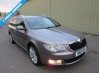 2013 SKODA SUPERB 2.0 SE PLUS TDI CR 5d 140 BHP £8995.00