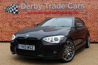 2013 BMW 1 SERIES 1.6 116I M SPORT 3d 135 BHP £9990.00