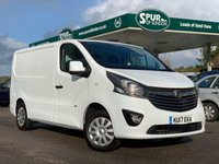 USED 2017 17 VAUXHALL VIVARO 1.6 L1H1 2700 SPORTIVE CDTI 120 BHP Euro 6, ULEZ Free, Only 20,000 Miles, Air Con, Cruise Control, Parking Censors.