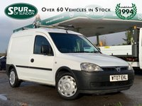 USED 2007 07 VAUXHALL COMBO VAN 1.2 2000 CDTI 73 BHP Direct BT, Low Mileage, BT Racking And Roof Rack, BT Service History.
