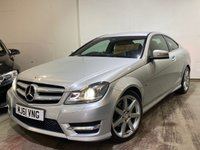 2011 MERCEDES-BENZ C CLASS 2.1 C250 CDI BLUEEFFICIENCY AMG SPORT ED125 2d AUTO 204 BHP £7495.00