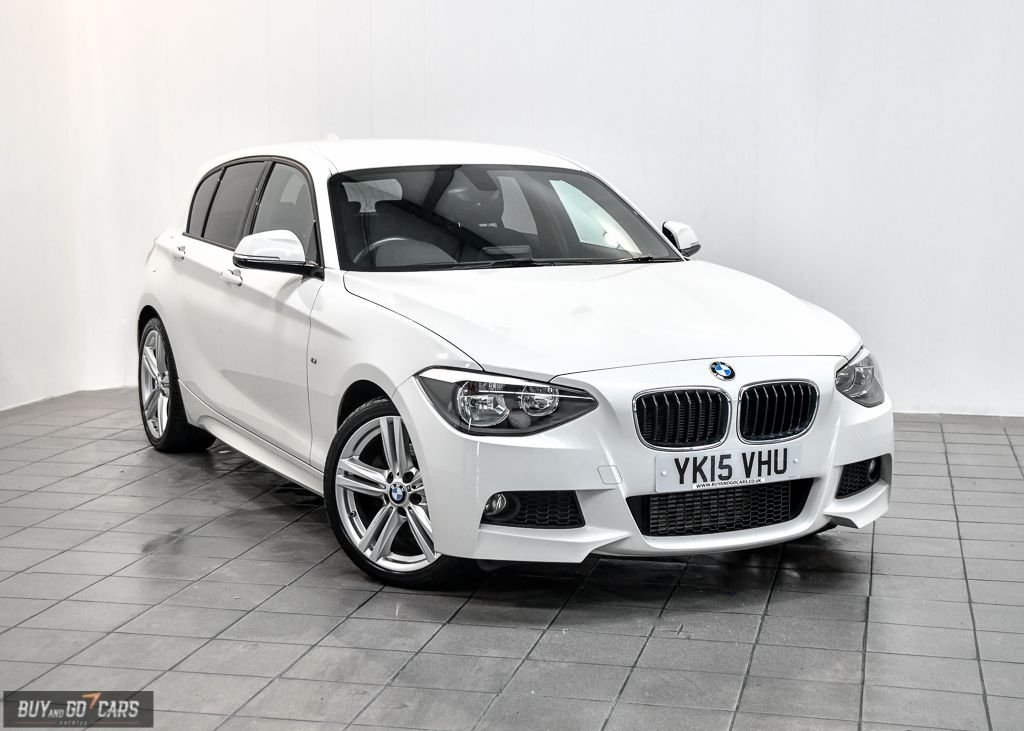 USED 2015 15 BMW 1 SERIES 2.0 125D M SPORT 5d 215 BHP BUY NOW, PAY 2 MONTHS LATER