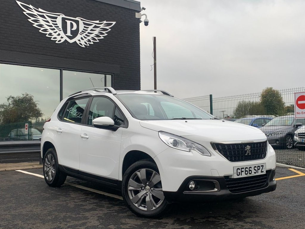 USED 2016 66 PEUGEOT 2008 1.2 PURETECH ACTIVE 5d 82 BHP 1 OWNER | £30 VED | DAB | APPLE CARPLAY | USB/AUX INPUT | BLUETOOTH