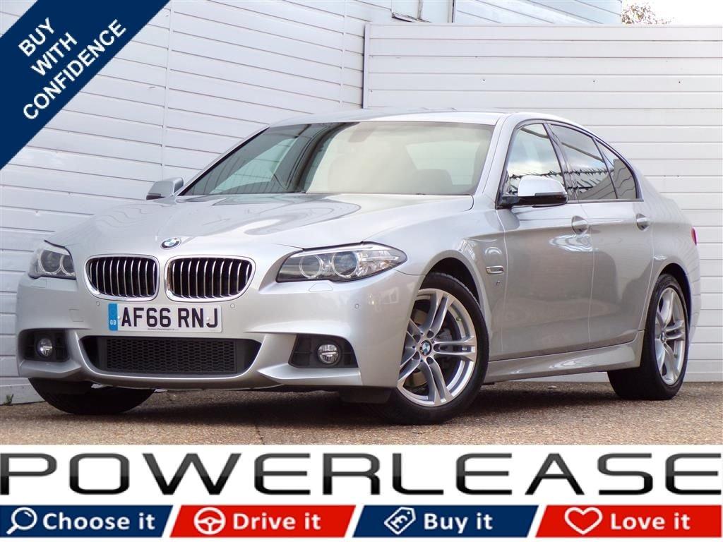 USED 2016 66 BMW 5 SERIES 2.0 520D M SPORT 4d AUTO 188 BHP 30POUNDTAX HEATEDSEATS FBMWSH