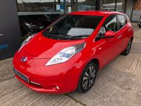 USED 2017 66 NISSAN LEAF 0.0 TEKNA 5d AUTO (30kWh) Nav, Leather,360 degree parking cameras, isofix, 30KW, 1 owner