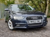 2012 AUDI A4 2.0 TDI SE TECHNIK 4d 141 BHP £8000.00