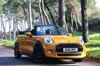 2016 MINI CONVERTIBLE 1.5 COOPER 2d AUTO 134 BHP £14995.00