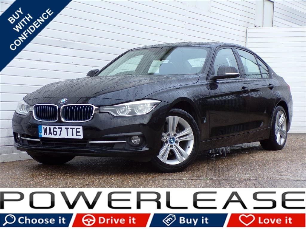 USED 2017 67 BMW 3 SERIES 2.0 330E SPORT 4d AUTO 181 BHP SATNAV CLIMATE CONTROL 1 OWNER