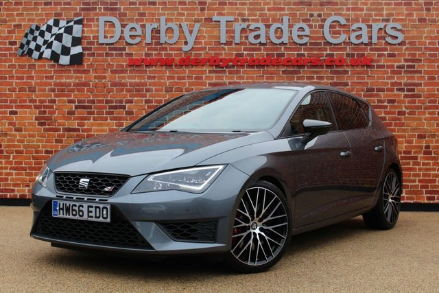 SEAT LEON at Derby Trade Cars