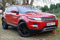 USED 2013 63 LAND ROVER RANGE ROVER EVOQUE 2.2 SD4 PURE [TECH PACK] 4WD AUTO [190 BHP]