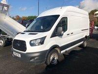 2018 FORD TRANSIT 350 L3H3 RWD 130PSi Panel Van £13999.00