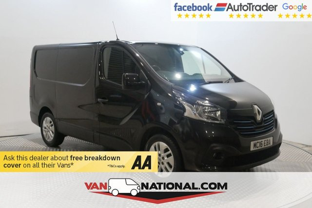 USED 2016 16 RENAULT TRAFIC 1.6 SL27 SPORT DCI S/R 115 BHP SWB (AIR CON LOW MILES) * 12 MONTH WARRANTIES AVAILABLE FROM JUST £199 *