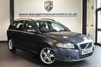 """USED 2008 08 VOLVO V50 2.0 SE D 5DR 135 BHP full service history Finished in a stunning metallic grey styled with 17"""" alloys. Upon opening the drivers door you are presented with full black leather interior, full service history, wonderfully maintained, cruise control, heated seats, electric mirrors"""