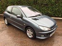 USED 2005 55 PEUGEOT 206 1.4 SE 3d 74 BHP