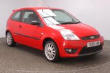 USED 2005 05 FORD FIESTA 1.6 ZETEC S 3DR 100 BHP FULL SERVICE HISTORY + AIR CONDITIONING + RADIO/CD + ELECTRIC WINDOWS + 16 INCH ALLOY WHEELS
