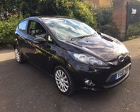 2011 FORD FIESTA 1.2 EDGE 3d 59 BHP £3750.00