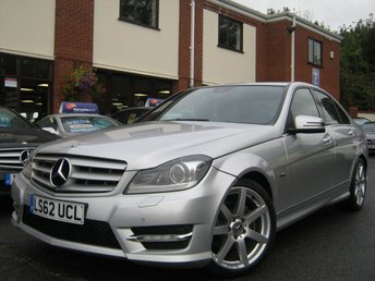 2012 MERCEDES-BENZ C CLASS 2.1 C220 CDI BLUEEFFICIENCY SPORT 4d AUTO 168 BHP £8495.00