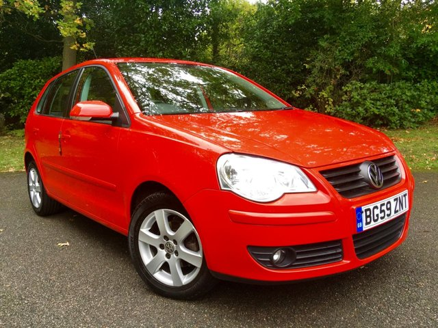 2009 59 VOLKSWAGEN POLO 1.2 MATCH 5d 59 BHP AIRCON ONLY 16,000 MILES/FULL VW/SPECIALIST SERVICE HISTORY