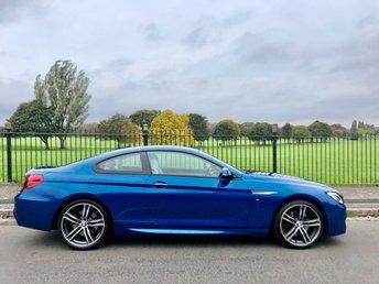 2017 BMW 6 SERIES 3.0 640D M SPORT 2d AUTO 309 BHP £26995.00