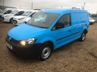USED 2013 13 VOLKSWAGEN CADDY MAXI 1.6 C20 TDI 101 BHP 46000 MILES * DIRECT BRITISH GAS * AIR CONDITIONING