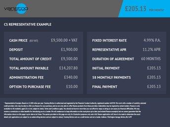 2016 VAUXHALL MOVANO 2.3 F3500 L3H2 P/V CDTI 123 BHP £9500.00