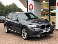 USED 2013 13 BMW X1 2.0 XDRIVE20D M SPORT 5d AUTO 181 BHP LEATHER | ALLOYS | AIR CON |