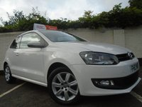2013 VOLKSWAGEN POLO 1.2 MATCH EDITION 3d 59 BHP £5499.00
