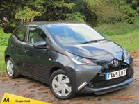 USED 2016 65 TOYOTA AYGO 1.0 VVT-I X-PLAY 5d 69 BHP LOW MILEAGE STARTER CAR