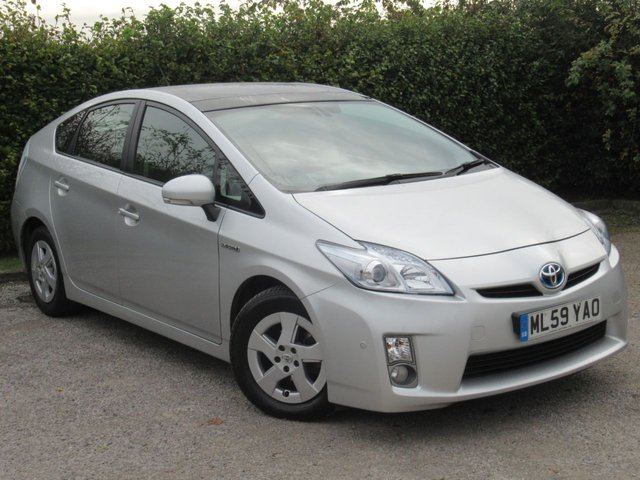 USED 2009 59 TOYOTA PRIUS 1.8 T SPIRIT VVT-I 5d AUTOMATIC * ONE OWNER FROM NEW *