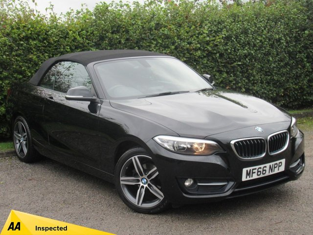 USED 2016 66 BMW 2 SERIES 2.0 218D SPORT 2d * FULL SERVICE HISTORY *