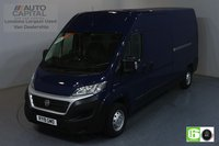 USED 2019 19 FIAT DUCATO 2.3 35 MULTIJET II TECNICO 129 BHP EURO 6 ENGINE AUTO, AIR CON, SAT NAV, REVERSE CAM