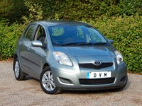 USED 2009 59 TOYOTA YARIS 1.3 TR VVT-I MM 5d AUTO 99 BHP NEW MOT, SERVICE HISTORY, LOW MILEAGE