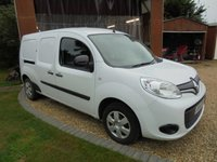 2016 RENAULT KANGOO MAXI 1.5 LL21 BUSINESS PLUS DCI 90 BHP Air Conditioning 2 Side loading doors £5995.00