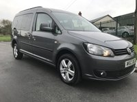 USED 2012 62 VOLKSWAGEN CADDY MAXI 1.6 C20 LIFE TDI 5d AUTO DSG WHEELCHAIR ACCESS