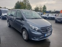 USED 2018 18 MERCEDES-BENZ VITO 2.1 119 BLUETEC TOURER SELECT 5d 8 SEATER  AUTO 190 BHP