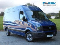 USED 2016 66 VOLKSWAGEN CRAFTER 2.0 CR35 TDI M P/V BMT 139 BHP 1 Owner, Full Service History, MWB, 140 BHP
