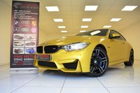USED 2015 15 BMW M4 COUPE 3.0 TWIN TURBO DCT