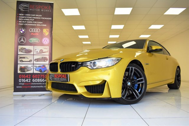 2015 15 BMW M4 COUPE 3.0 TWIN TURBO DCT