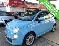 USED 2011 61 FIAT 500 1.2 LOUNGE 3d 69 BHP *ONLY 77,000 MILES*