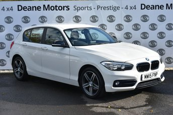 2015 BMW 1 SERIES 1.6 118I SPORT 5d 134 BHP GREAT VALUE PETROL £8990.00