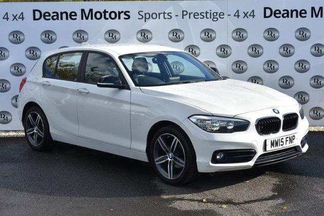 2015 15 BMW 1 SERIES 1.6 118I SPORT 5d 134 BHP GREAT VALUE PETROL